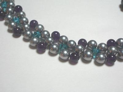 人工真珠ネックレス