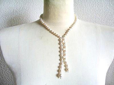 オリジナル Y型ネックレス