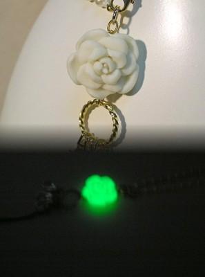 薔薇モチーフ ロングストラップ